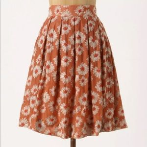 Plenty by Tracy Reese Embroidered Flower Skirt
